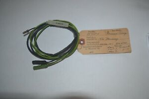 1956 Mercury Electric Windshield Washer Wiring Harness Nos Factory Sample Rare