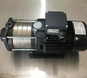 Grundfos Ch2 50 Booster Pump With 3 4hp 3 Phase Motor Never Used