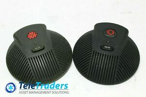 Lot Of 2 Polycom Soundstation Ex External Microphones