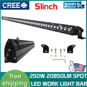 30inch 150w Led Curved Lights Bar Single Row Combo Offroad Ford Truck 31 32 180w