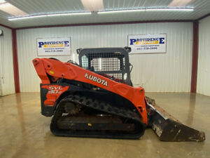 2015 Kubota Svl 90 2 Skid Steer Track Loader With Orops