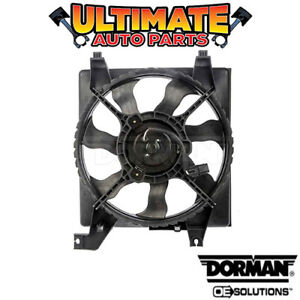 Radiator Cooling Fan 1 6l Or 1 4l For 09 10 Dodge Attitude No Cruise Control
