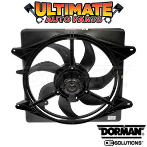 Radiator Cooling Fan 1 6l No A C For 08 09 Vw Volkswagen Lupo