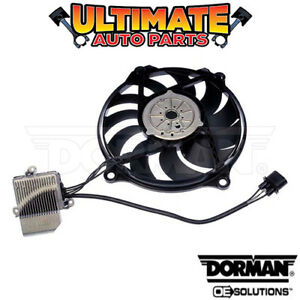 Radiator Cooling Fan 2 5l 5 Cylinder W controller For 06 10 Vw Beetle