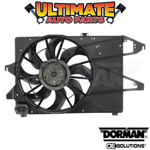 Radiator Cooling Fan 2 0l 4 Cylinder For 99 00 Ford Contour