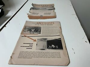 Iskenderian Racing Cams Vintage Brochure Top Page Not Connected In Rough Shape