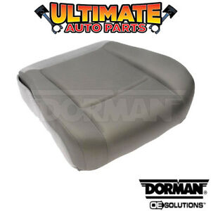 drivers Side Left Front Lower Seat Bottom gray Cloth For Ford Van