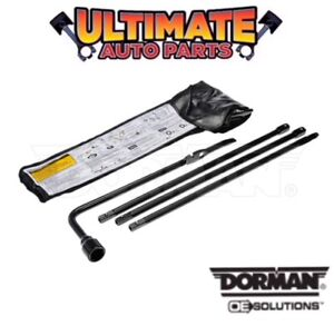 Spare Wheel Tire Jack Handle Tools And Lug Wrench For 99 19 Chevy Silverado