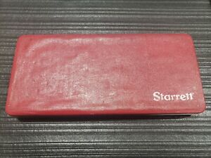 Starrett Depth Micrometer 449 Case And Rods Only
