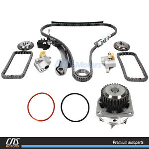 Timing Chain Kit Water Pump For 05 15 Nissan Frontier Nv Pathfinder Xterra 4 0l