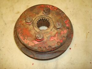 Ford 961 Tractor Power Steering Double Crankshaft Pulley 800 900