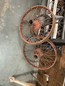 Model T Ford Hayes Wire Wheels 30 X 3 1 2 Front Pair