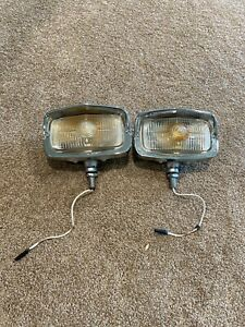 Original 1968 Ford Mustang Shelby Gt350 Gt500 Marchal Fog Lights Pair