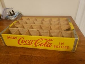 Vintage Coca Cola Wooden Crate  Montross Northern Neck Of Virginia