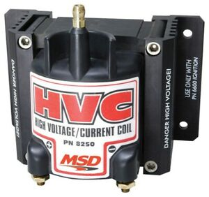 Msd Coil Msd 6 Hvc Must Be Used With The 6 Hvc Professional Ignition
