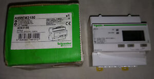 Schneider Electric A9mem3150 Iem3100 Lcd Digital Three Phase Energy Power Meter