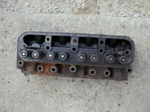 International Farmall 340 Utility Tractor Ih Engine Motor Cylinder Head Brokenst