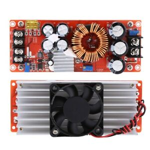 1500w Dc dc Boost Converter Step up Power Supply Module In 10 60v Out 12 90v
