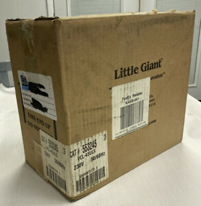 Little Giant 553245 Condensate Pump Vcl 45uls 230v Nos