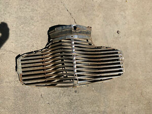 1941 Chevrolet Passenger Grille W Top Grille And 1 Trim Piece Original Used