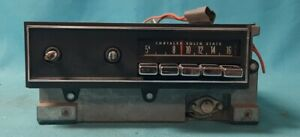 Used 1970 To 1974 E Body Plymouth Barracuda Challenger Factory Radio