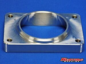 T6 3d Exhaust Transition Adapter Flange 3 16ga Tube