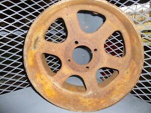 Vintage 1949 Minneapolis Moline Tractor Model U Flat Belt Pulley 10a1044 15 X 7