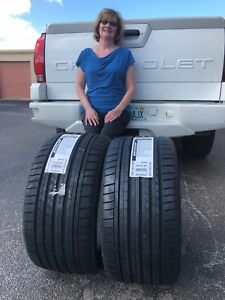 Two 2 Brand New 285 35 18 Dunlop Sp Sport Maxx Gt Mo Tires With Free Shipping