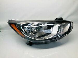 92102 1kxxx 2012 2013 2014 Hyundai Accent Front Right Oem Headlight