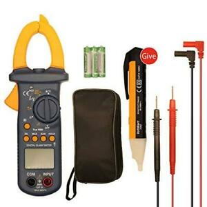 Digital Multimeter Fluke Meter Amp Ohm Voltmeter Autorange Tester Acdc Useful