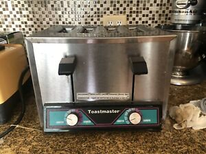 Toastmaster Tp409 Commercial 4 Slice Toaster Electronic 120v 18 3 Amps
