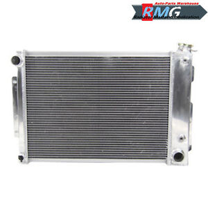 3row Aluminum Radiator Fit For 1967 1969 Chevrolet Camaro firebird 1968 V8
