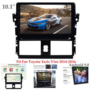 10 1 Android 9 0 Car Gps Radio Player Wi Fi Fm For Toyota Yaris Vios 2014 2016