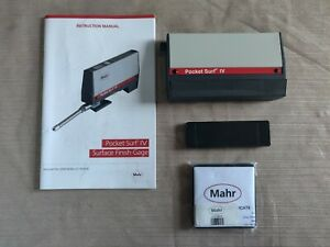 Mahr Federal 2191800 Pocket Surf Iv Portable Surface Roughness Accessories Cal