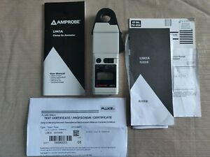 Amprobe Lh41a 40a Ac dc Low Current Clamp On Ammeter With Display Certified