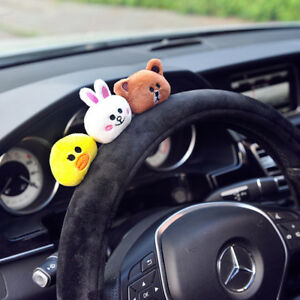 Car Steering Wheel Cover For Girls And Women Car Styling Cartoon Cute
