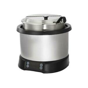 Vollrath 7470110 7 Qt Silver Induction Rethermalizer
