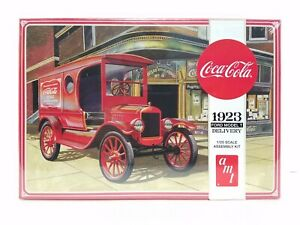 AMT Coca Cola 1923 Ford Model T Delivery 1:25 Scale Plastic Model Car Hobby B1