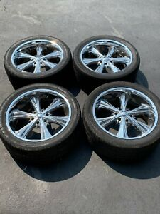 Panther 22 Chrome Rims Excellent Pre Owned Condition Great Price