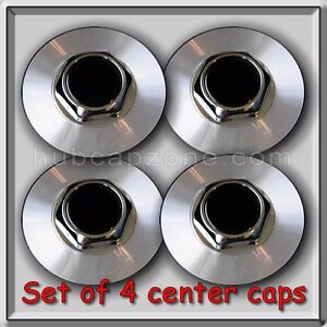1995 1996 Chevy Chevrolet Impala Center Caps Hubcaps For Aluminum Wheels Set 4