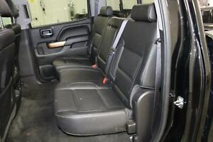 2014 Chevy Silverado 1500 Rear Seat Leather Crew Cab Second Row 2nd Bench