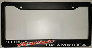 The Heartbeat Of America Auto Truck Car 4x4 Tag Cover License Plate Frame