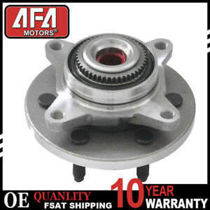 Front Wheel Bearing Hub For 2007 2008 2009 2010 Ford Expedition Navigator 4wd