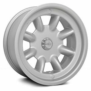 Trans Am Race Engineering Minilite Wheels 15x8 0 5x114 3 Silver Rims Set Of 4