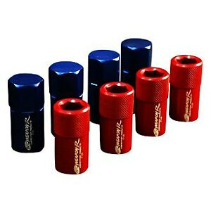 Weapon r 822 117 103 Type S Blue Flat Seat Racing Lug Nuts