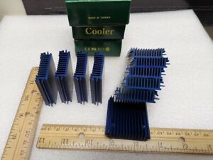 10pcs Aluminum Heat Sink For Led And Power Ic Transistor Cooling Radiator Usa
