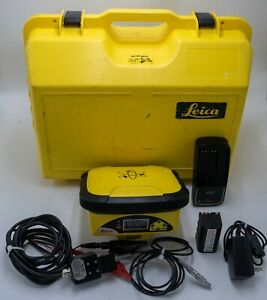 Leica Icon Icg60 Gps 60 Gnss Antenna Base Station Rover Surveying