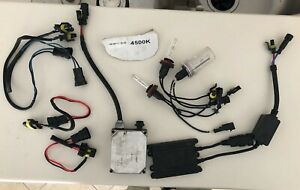 Hid Xenon Kit H8 H9 H11 4500k Works Great