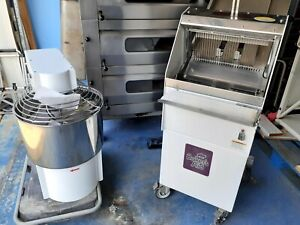 Commercial Bakery Equipment Must Sell Oven spiral Mixer slicer And Bread Molder