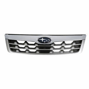 Oem New 2011 2013 Subaru Forester X Xt Limited Front Grille Assembly 91121sc040